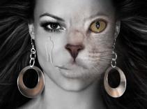 woman-cat